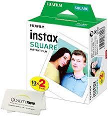 Fujifilm Instax Square Instant Film - 20 Exposures - for ... - Amazon.com
