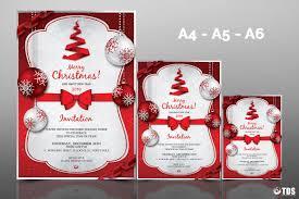 christmas invitation template psd v tds psd flyer templates christmas invitation template psd v 4