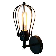 ZH Wall Lamp Loft <b>Retro Grapefruit</b> Wall Lamp-Antique Iron ...