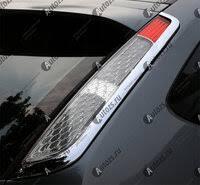 «<b>Хромированные накладки на</b> задние фонари Ford Focus 2 2008 ...
