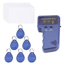 Handheld <b>125KHz RFID</b> Card Copier Writer Duplicator Programmer ...