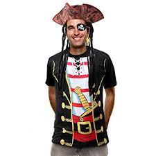 Latocos Pirate Costume Men Women Pirate Shirt ... - Amazon.com