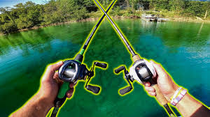 Impossible <b>DOUBLE Rod</b> and <b>Reel Fishing</b> CHALLENGE! (<b>Fishing</b> ...