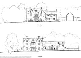 his plans for the property include a six bedroom main house complete with swimming pool build home cotswold