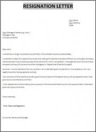 resignation letter template free words templates resignation letter resignation letter formats
