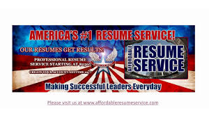 affordable resume service affordable resume service