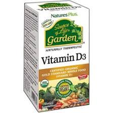 Nature's Plus <b>Source of Life Garden</b> Vitamin D3 - A1supplements