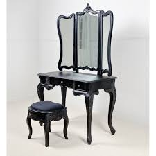 mirrors for bathrooms table and mirror mirrored finish vanity pleasureable black antique dressing wooden tables three bedroom beautiful home furniture ideas vintage vanity