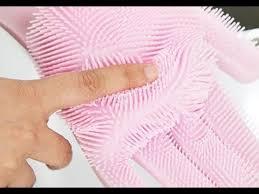 <b>Силиконовые перчатки</b> для мытья - YouTube