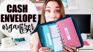 My Cash Envelope Organizer - YouTube