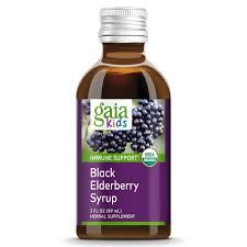 GaiaKids® <b>Black Elderberry Syrup</b> for Immune Support: Gaia Herbs®