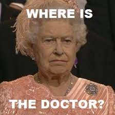 doctor who the doctor meme David Tennant london 2012 The Queen ... via Relatably.com