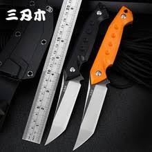 <b>Sanrenmu</b> S761 Новый фиксированный <b>нож</b> 8cr13mov лезвие ...