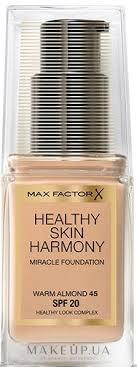 Max Factor <b>Healthy Skin</b> Harmony Foundation - <b>Тональная основа</b> ...