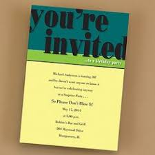 Birthday Party Invitations on Pinterest | Birthday Invitations ... via Relatably.com