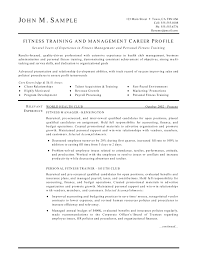 trainer resume samples cipanewsletter cover letter physical training instructor resume physical training