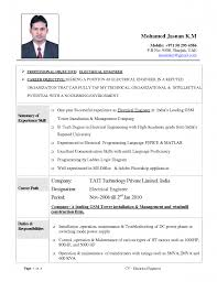 sample electrical technician resume pdf free download — free        electrical technician resume model
