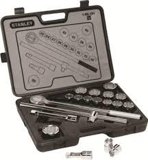 Buy <b>Stanley</b> 46 Pc. <b>3</b>/<b>8</b> inches Sq. dr. socket & bit set online at best ...