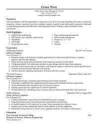 best software engineer resume example livecareer create my resume