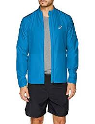 Asics <b>Men's Woven Jacket</b>: Amazon.co.uk: Clothing