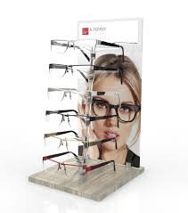 <b>Custom</b> POP optical display stand with capacity ranging from 1pc to ...