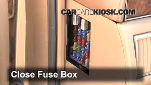 interior fuse box location cadillac seville  interior fuse box location 1992 1997 cadillac seville 1992 cadillac seville 4 9l v8