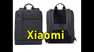 Обзор рюкзака Xiaomi Classic Business Backpack - YouTube