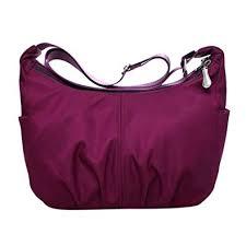 BESTVECH Burgundy <b>Fashion</b> Waterproof Nylon <b>Women</b> ...