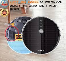 <b>Left</b> Big Wheel of <b>Liectroux C30B</b> 3000pa Strong Poower Suction