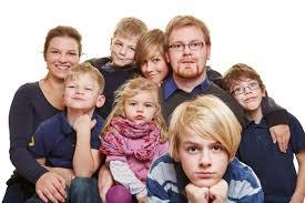 Resultado de imagen de familia numerosa