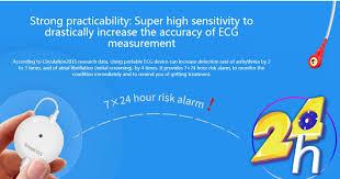 <b>Pelvifine</b> Mini <b>Portable</b> wearable <b>ECG</b> Monitor Measurement ...