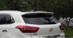 Экстерьер Hyundai Creta - <b>Спойлер багажной двери</b> Joan Hao ...