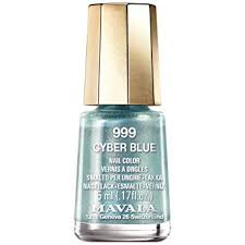 <b>Mavala Cyber Chic</b> 2018 Nail Polish Collection - <b>Cyber</b> Blue (999) 5ml