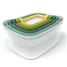 <b>Контейнеры для хранения</b> продуктов Nest™6 Опал, <b>Joseph Joseph</b>