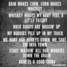 Country Music Quotes | Rain Is A Good Thing ~ Luke Bryan | Country ...