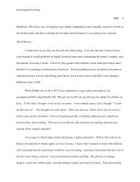 autobiographical essay autobiography essay format teacher th grade student council speeches autobiographical essay example