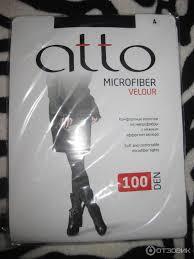 Отзыв о <b>Колготки женские Atto</b> Microfiber <b>Velour</b> | Очень приятные ...