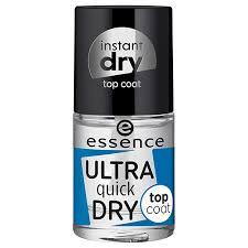 <b>Верхнее покрытие</b> для ногтей `ESSENCE` ULTRA QUICK DRY ...
