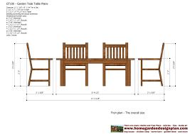 teak outdoor furniture plans