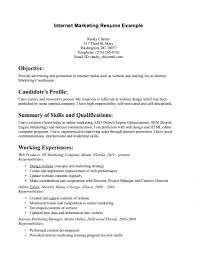 marketing resume website job sample resumes internship resume example marketing samples resume cv regarding marketing resume website marketing resume website · photo ecommerce marketing manager