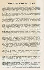 ann arbor civic theatre program the misanthrope  ann arbor civic theatre program the misanthrope 17 1986