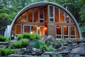 Cool Quonset Homes and One Really Ugly One   DengardenNew York Cabin