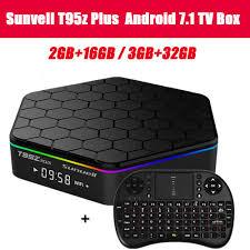 Sunvell <b>T95Z</b> Plus <b>Android</b> 7.1 <b>Smart Box</b> Amlogic S912 Octa Core ...