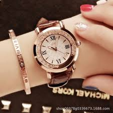 123 <b>Women Watches</b> Luxury <b>Fashion Quartz Watch</b>-Brown online ...