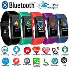 Forart Waterproof Smart Bracelet Watch 115 Plus ... - Amazon.com