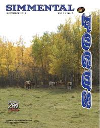 November 2011 Simmental Focus Issue by Tracy Vestby - issuu