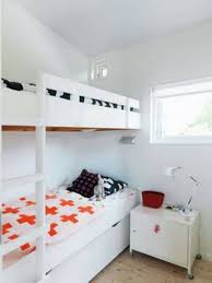 Small Bedroom For Two Small Bedroom For Two Beds With White Bunk Bed With Ladder And