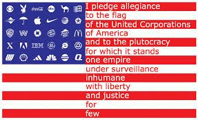 Image result for pledge allegiance corporate flag