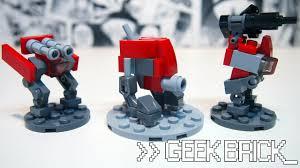 #GeekBrick Самоделки Мини-роботы из LEGO для настольной ...