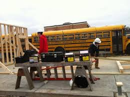 south shore vocational technical high school carpentry students here are some pictures from tuesday morning 16th